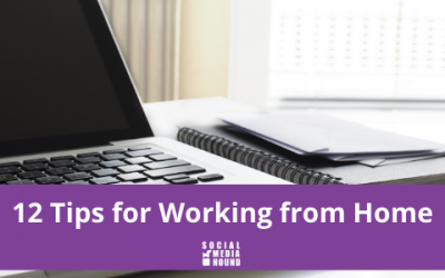 12 Tips for Working from Home